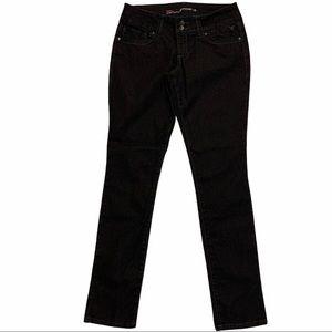 GRANE Kim Low Rise Curvy Skinny Black Jeans Size 7